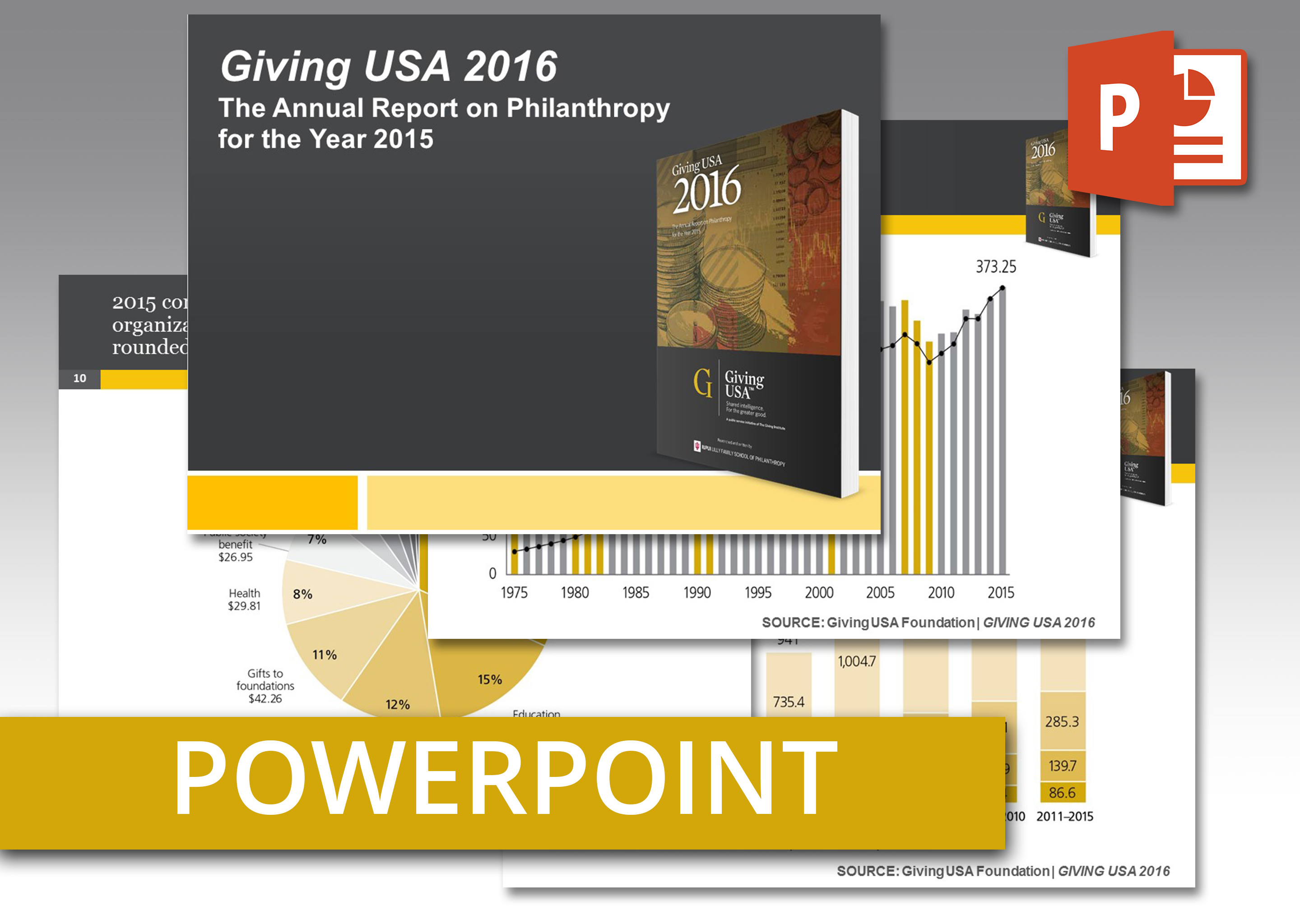 Coolmathgamesus  Stunning Giving Usa  Powerpoint An Easytouse Presentation Of Report  With Gorgeous Giving Usa  Powerpoint An Easytouse Presentation Of Report Findings Including Talking Points With Amusing How To Add Video In Powerpoint Also Adding Narration To Powerpoint In Addition Powerpoint Harvey Balls And Dynamic Powerpoint Presentations As Well As Family Feud Game Template Powerpoint Free Additionally Free Powerpoint Poster Templates From Givingusaorg With Coolmathgamesus  Gorgeous Giving Usa  Powerpoint An Easytouse Presentation Of Report  With Amusing Giving Usa  Powerpoint An Easytouse Presentation Of Report Findings Including Talking Points And Stunning How To Add Video In Powerpoint Also Adding Narration To Powerpoint In Addition Powerpoint Harvey Balls From Givingusaorg